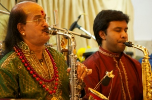 Kadri sir and Prasant performing together in 2011