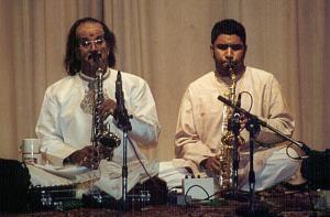 Kadri sir and Prasant performing together in 2004