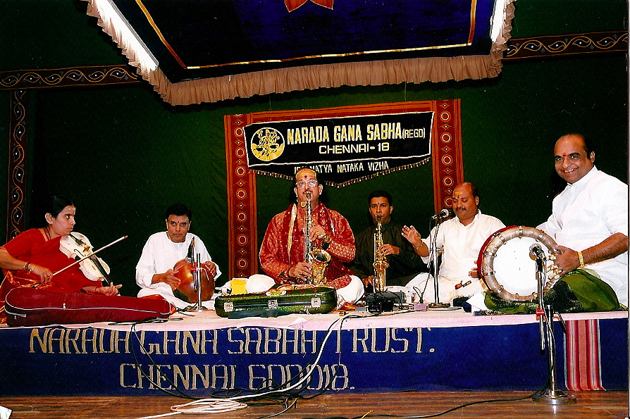 Kadri sir and Prasant performing together in 2004