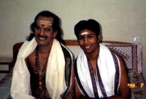With Sri Kadri sir 1998