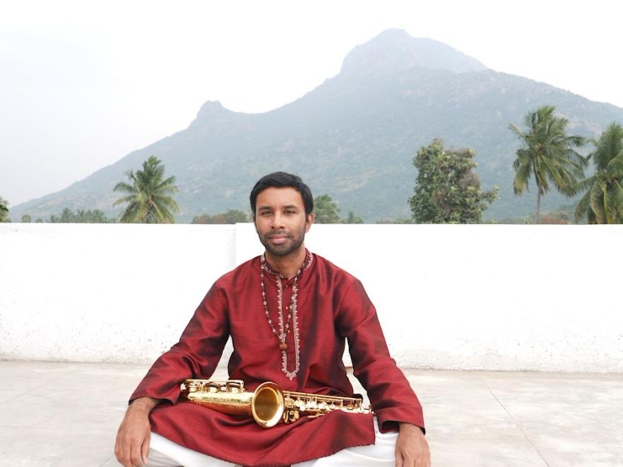 Prasant_saxophone_arunachala